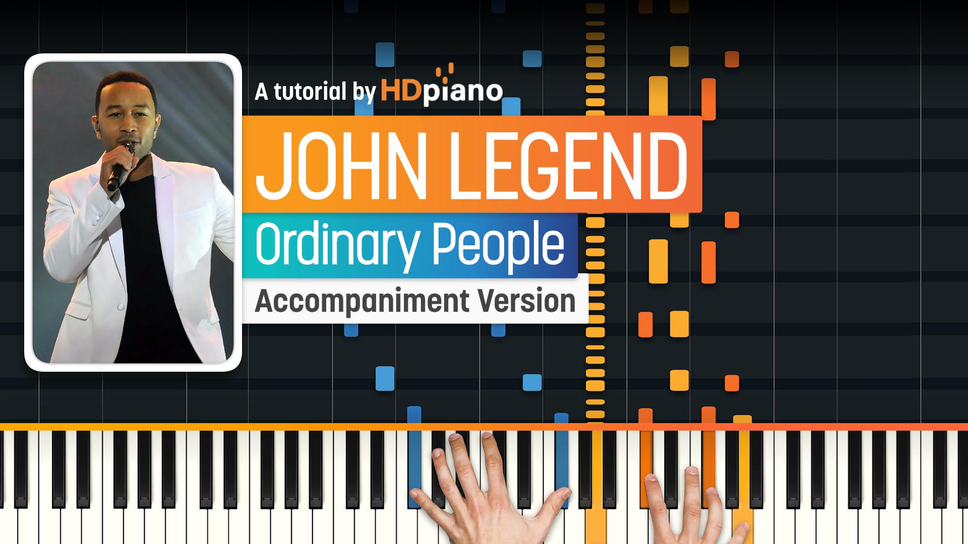 Ordinary People – HDpiano